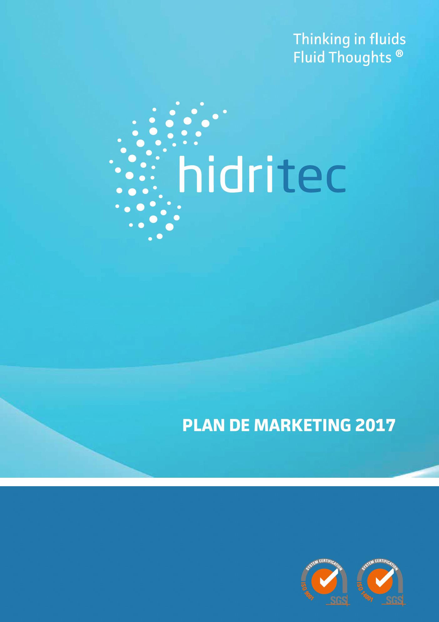 Plan de Marketing Hidritec